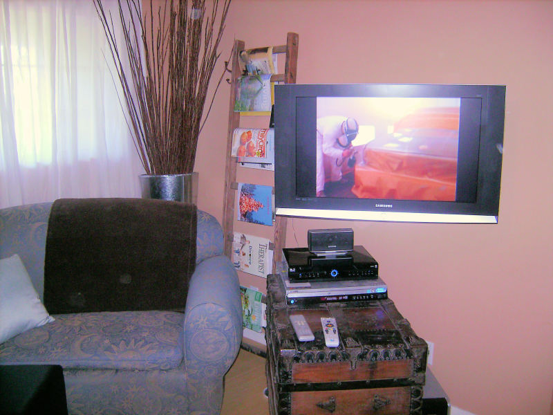 Premium TV Installation on Swivel Wall Mount Bracket